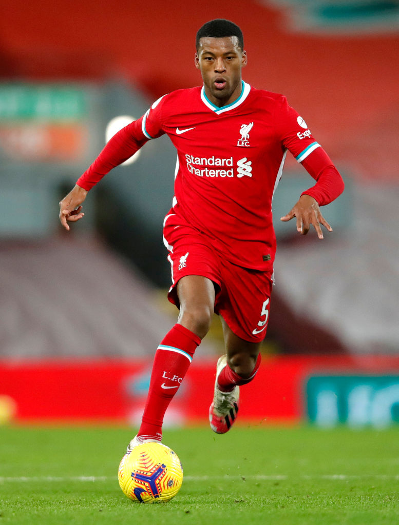 Gini Wijnaldum is desperate to stay at Liverpool.