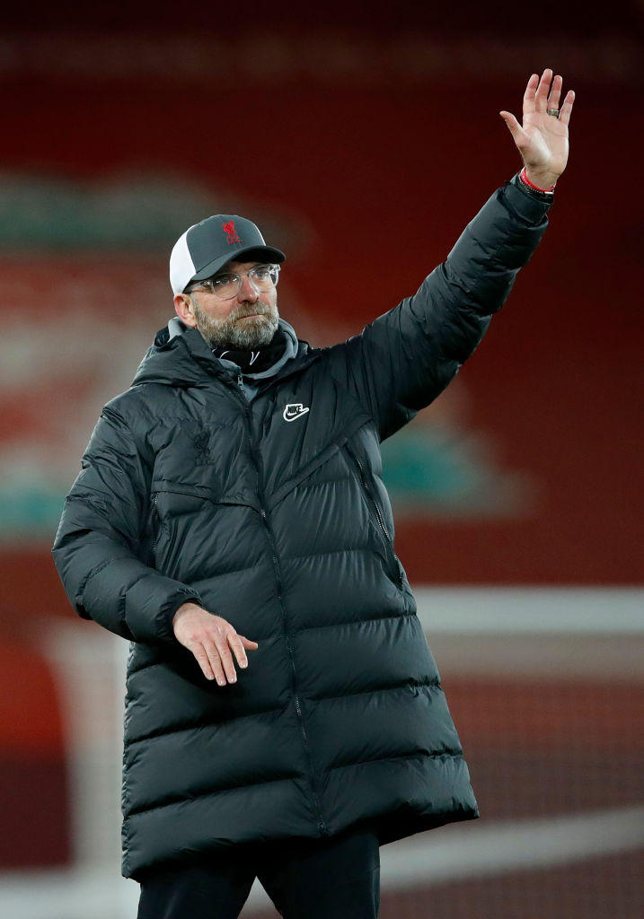 Liverpool extended their unbeaten home record to three calendar years