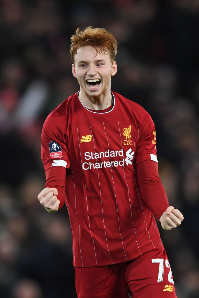 Some Liverpool fans have reacted to reports that Sepp van den Berg will leave on loan in January