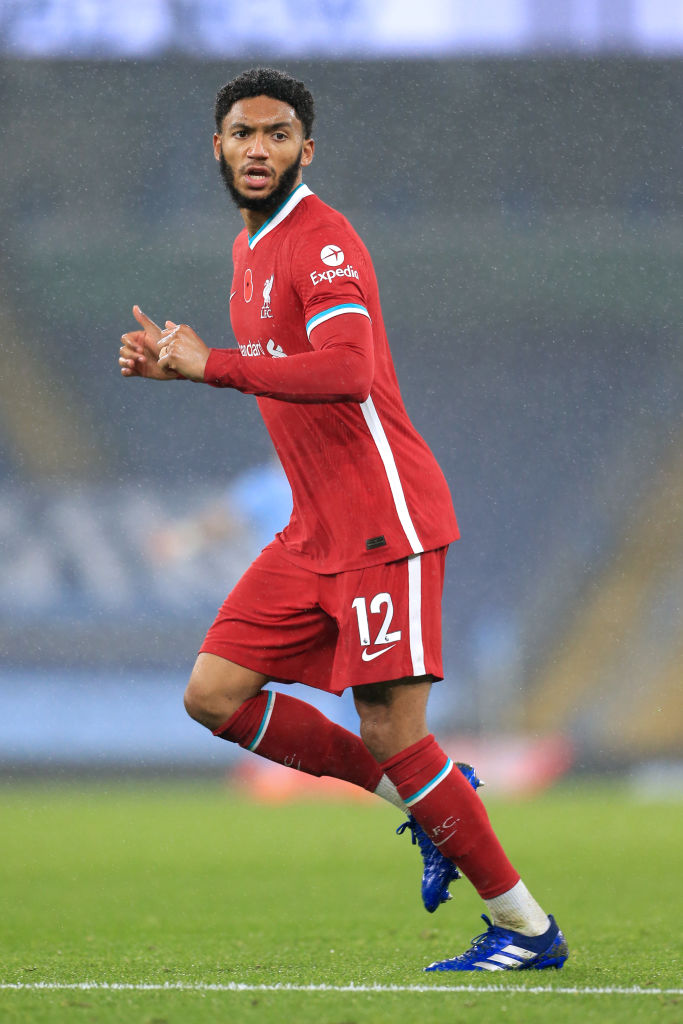 How Joe Gomez recovers from injury could determine the next major Liverpool signing