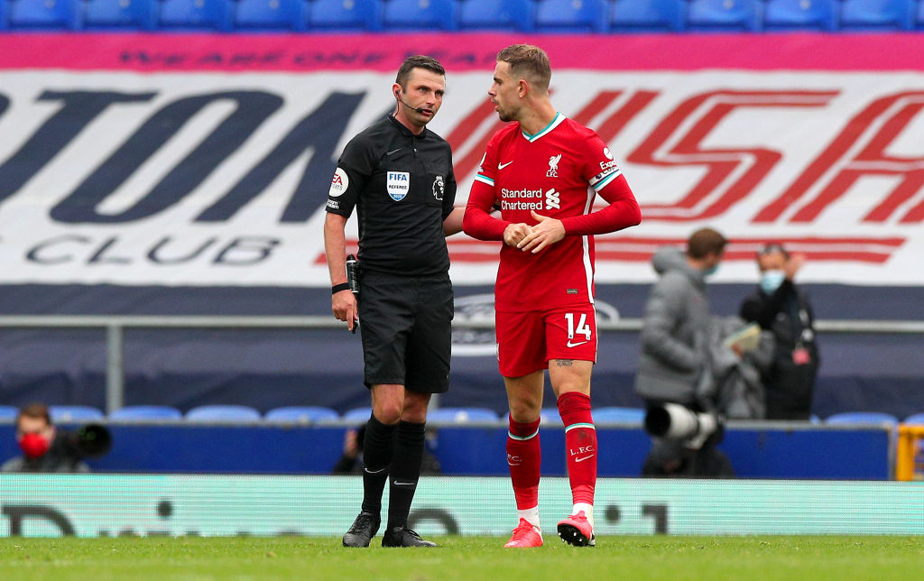 Liverpool fans have reacted to Michael Oliver finally admitting he made a mistake in the game