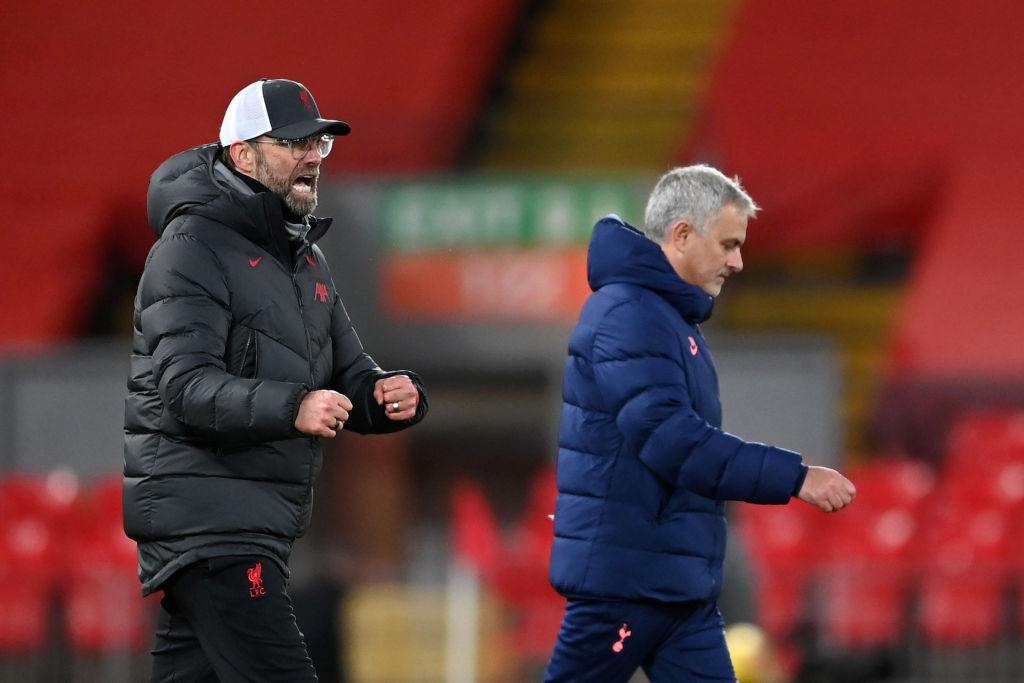 Jose Mourinho says Spurs have 'more problems' for the Liverpool tie.