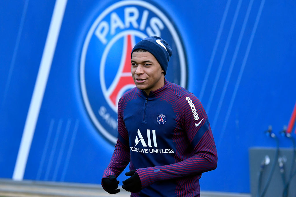Paris Saint-Germain Training Session - Kylian Mbappe could cost Liverpool over £100m.