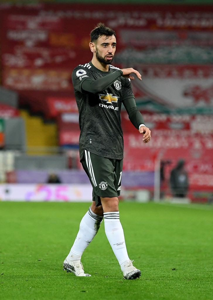 Liverpool forced Bruno Fernandes into a poor performance