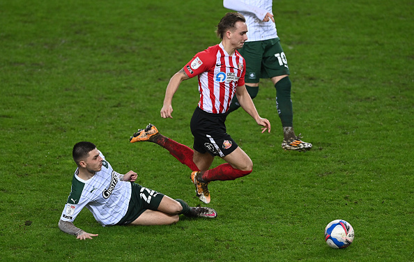Adam Lewis scored on his Plymouth Argyle debut this week and drew praise from manager Ryan Lowe
