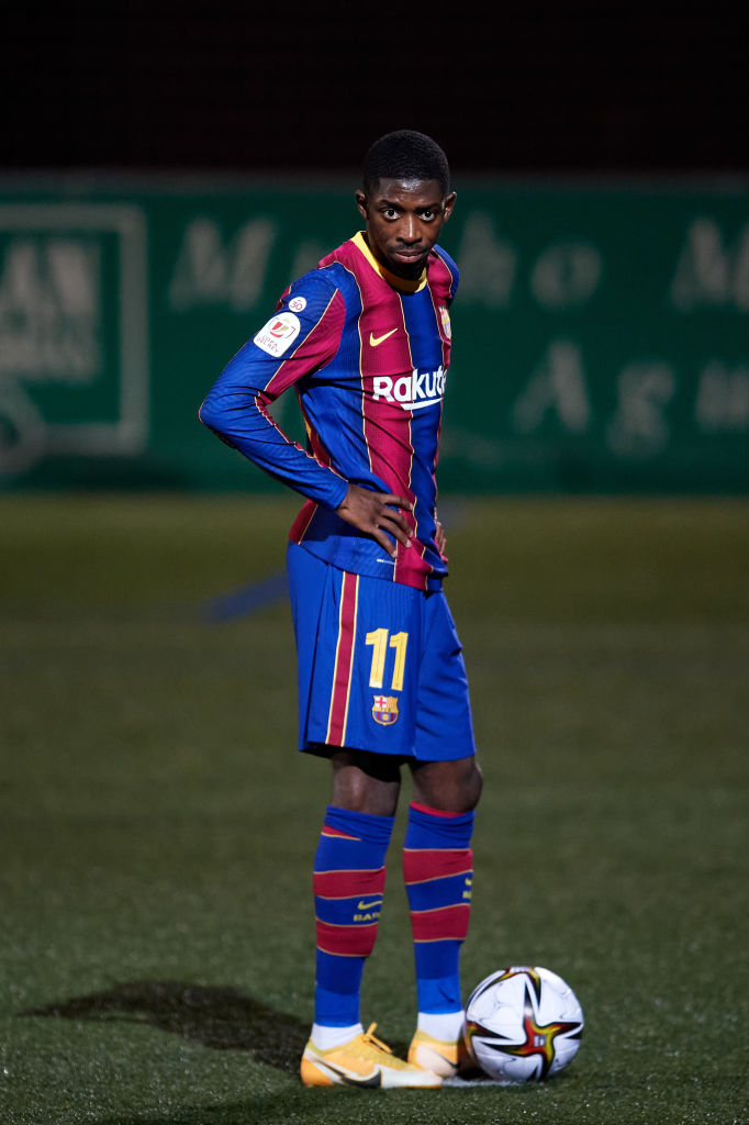 Liverpool could sign Ousmane Dembele for a bargain fee given his contract situation