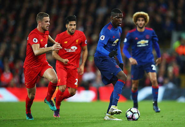 'We know': Paul Pogba outlines key difference in quality between Liverpool and Manchester United