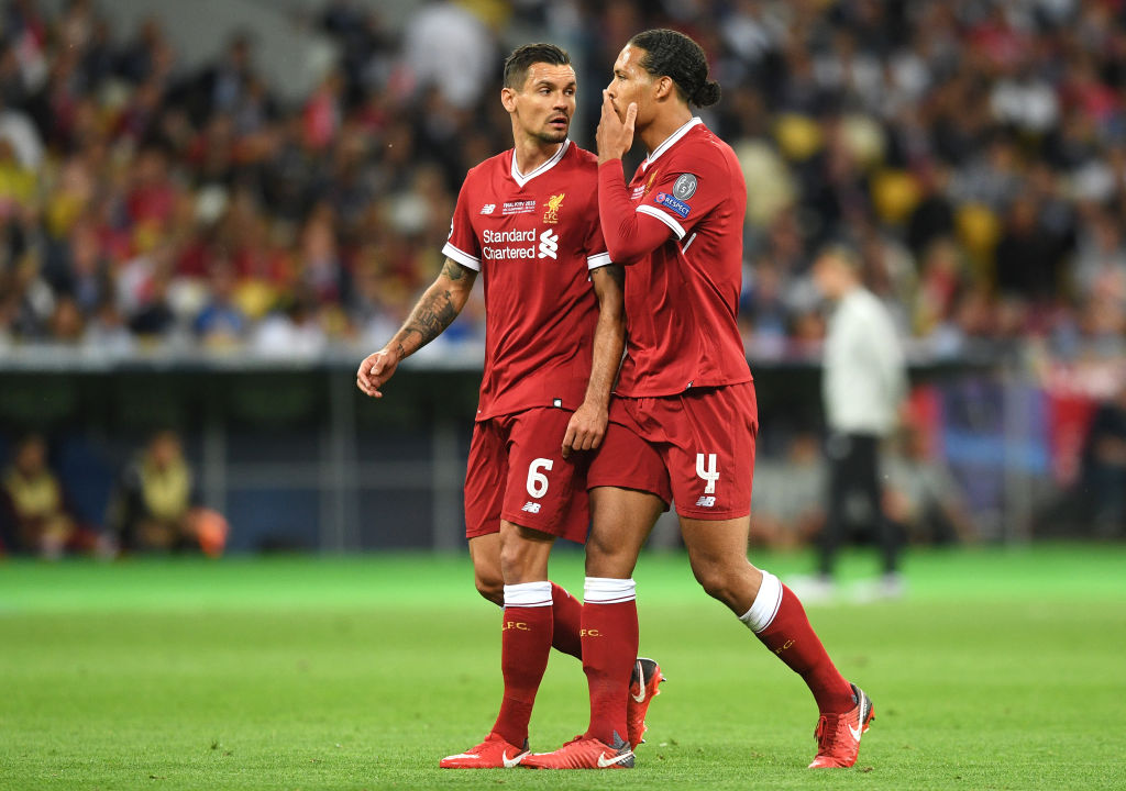 Dejan Lovren has posted a selfie with Virgil van Dijk and he's offered an update on the defender's progress
