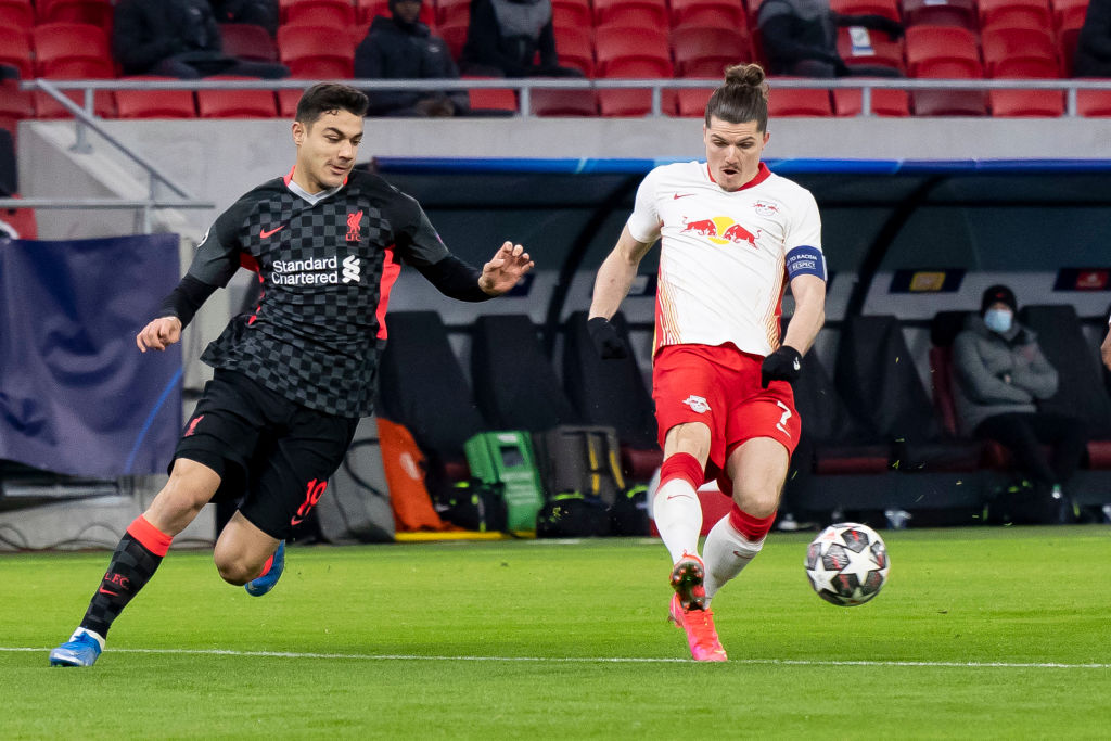 RB Leipzig v Liverpool FC  - UEFA Champions League Round Of 16 Leg One