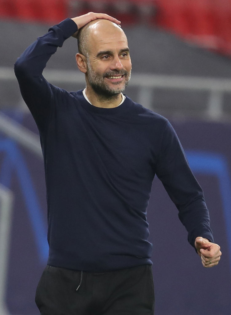 Pep Guardiola said money is the key to his success.