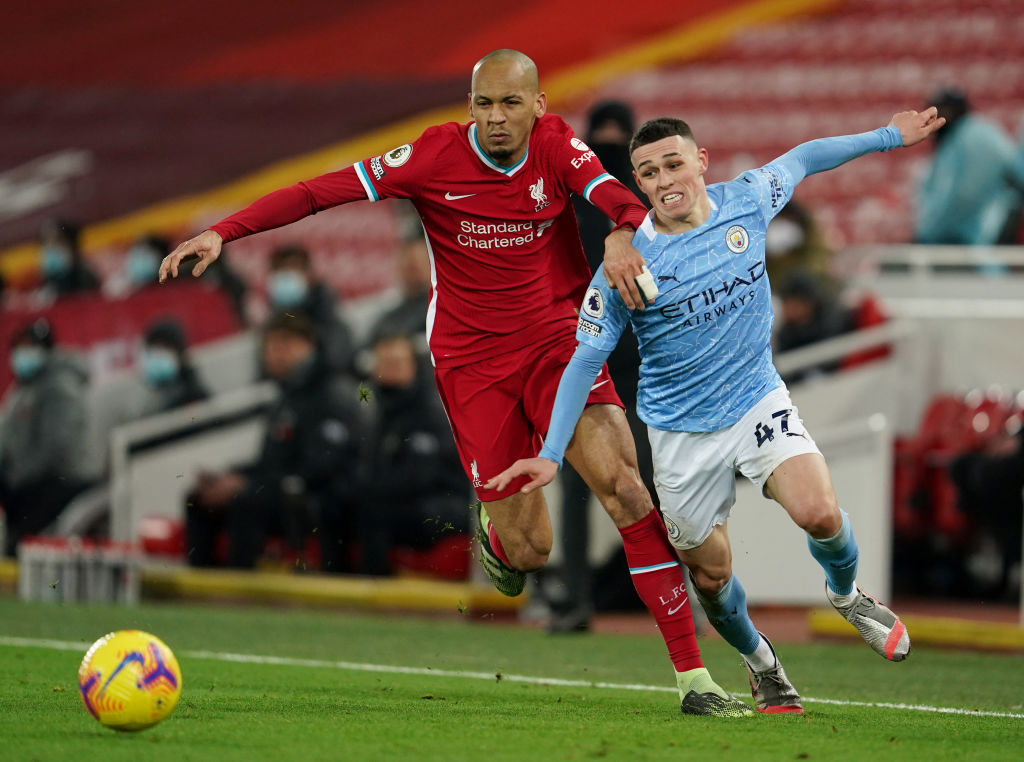 Liverpool want to offer Fabinho a new contract in 2021.