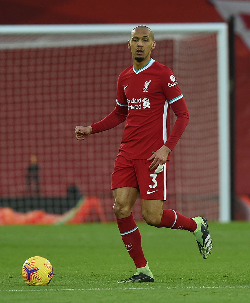 Liverpool could face Leicester City with Fabinho in midfield for the first time since October