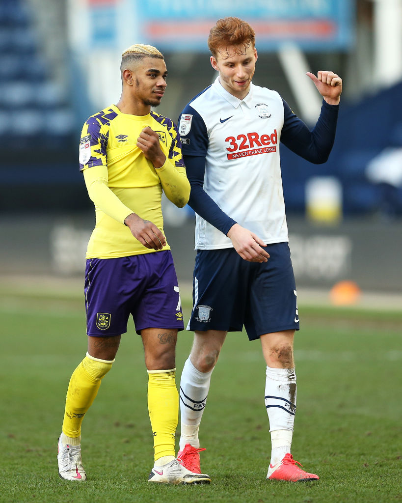 Fans have been raving over Sepp van den Berg as he continues to impress at Preston.