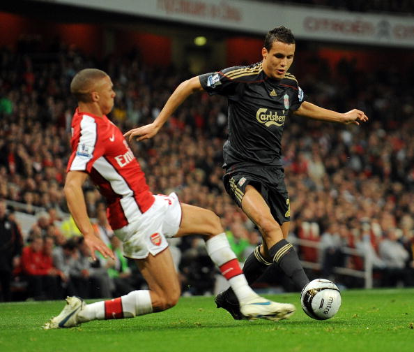 Arsenal v Liverpool - Carling Cup 4th Round - Philipp Degen.