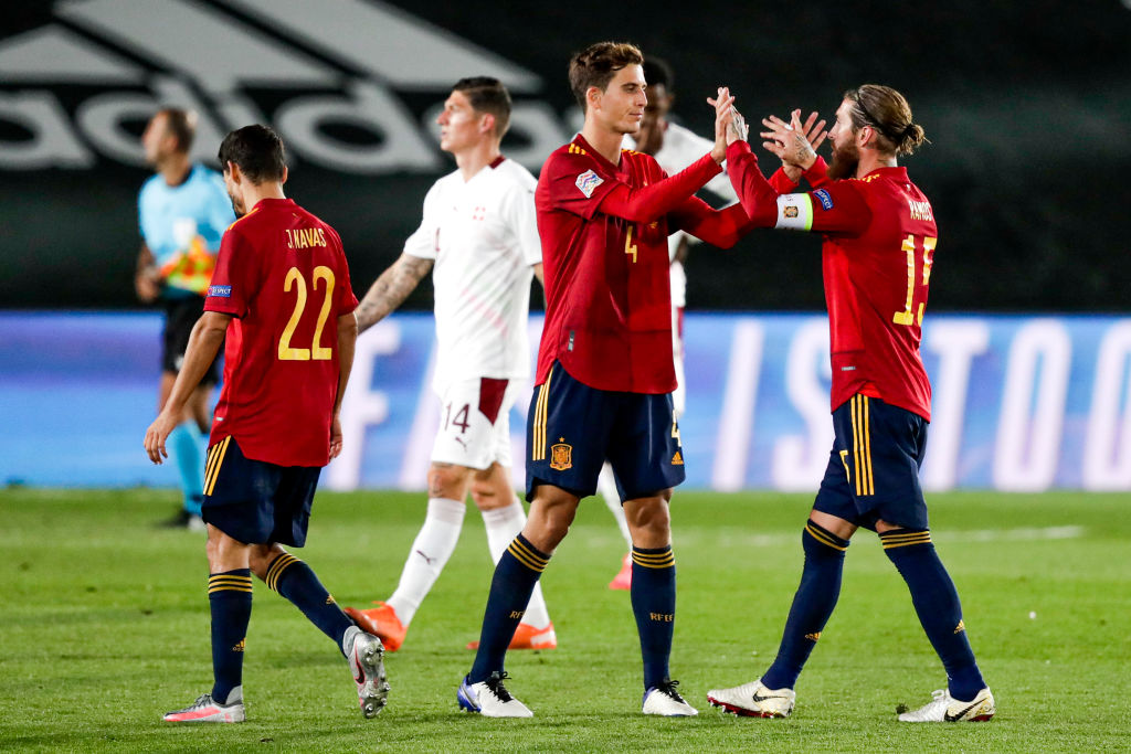 Spain  v Switzerland  -UEFA Nations league