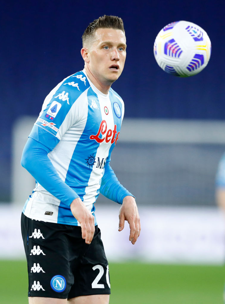 Some Liverpool fans have reacted to links to Piotr Zielinski.