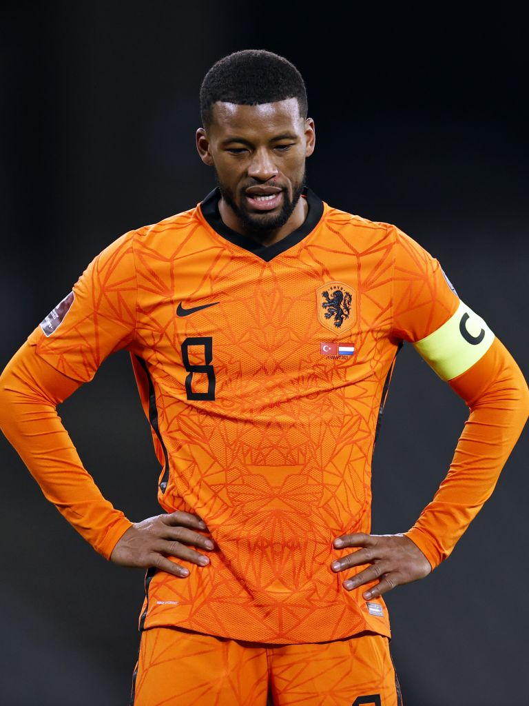 Liverpool star Gini Wijnaldum has posted a defiant message after the Netherlands were beaten 4-2 by Turkey