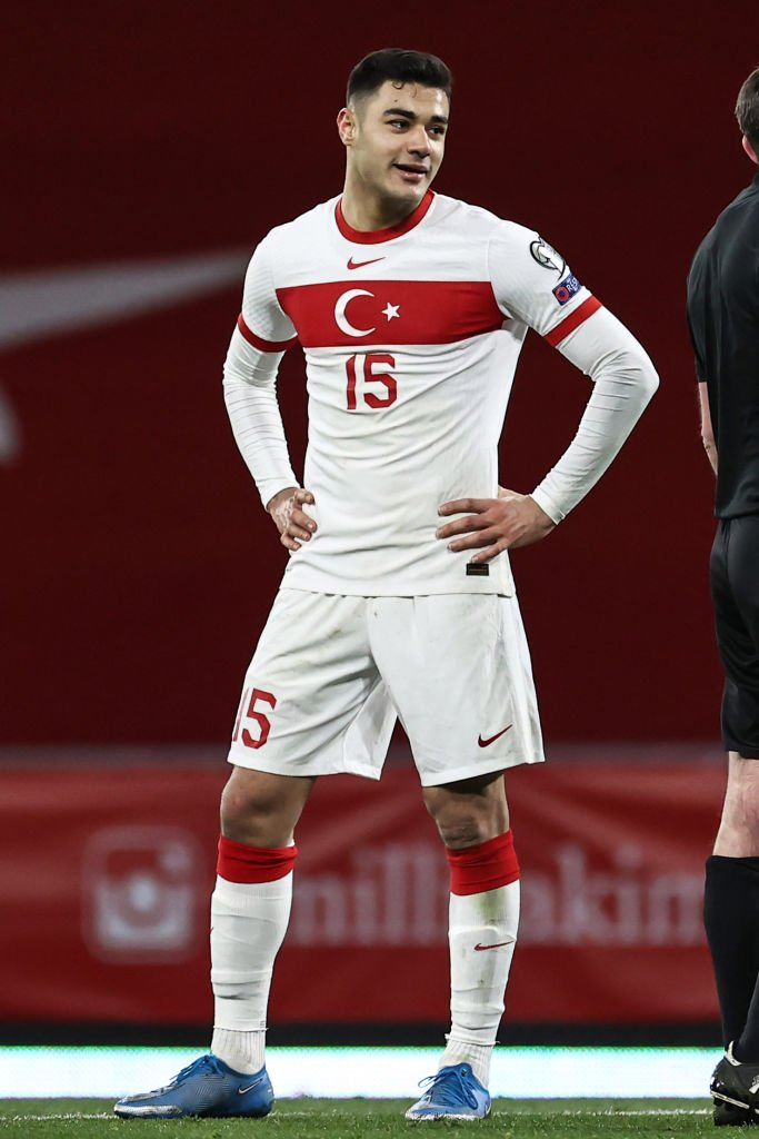 Ozan Kabak put in a standout performance for Turkey as they beat the Netherlands