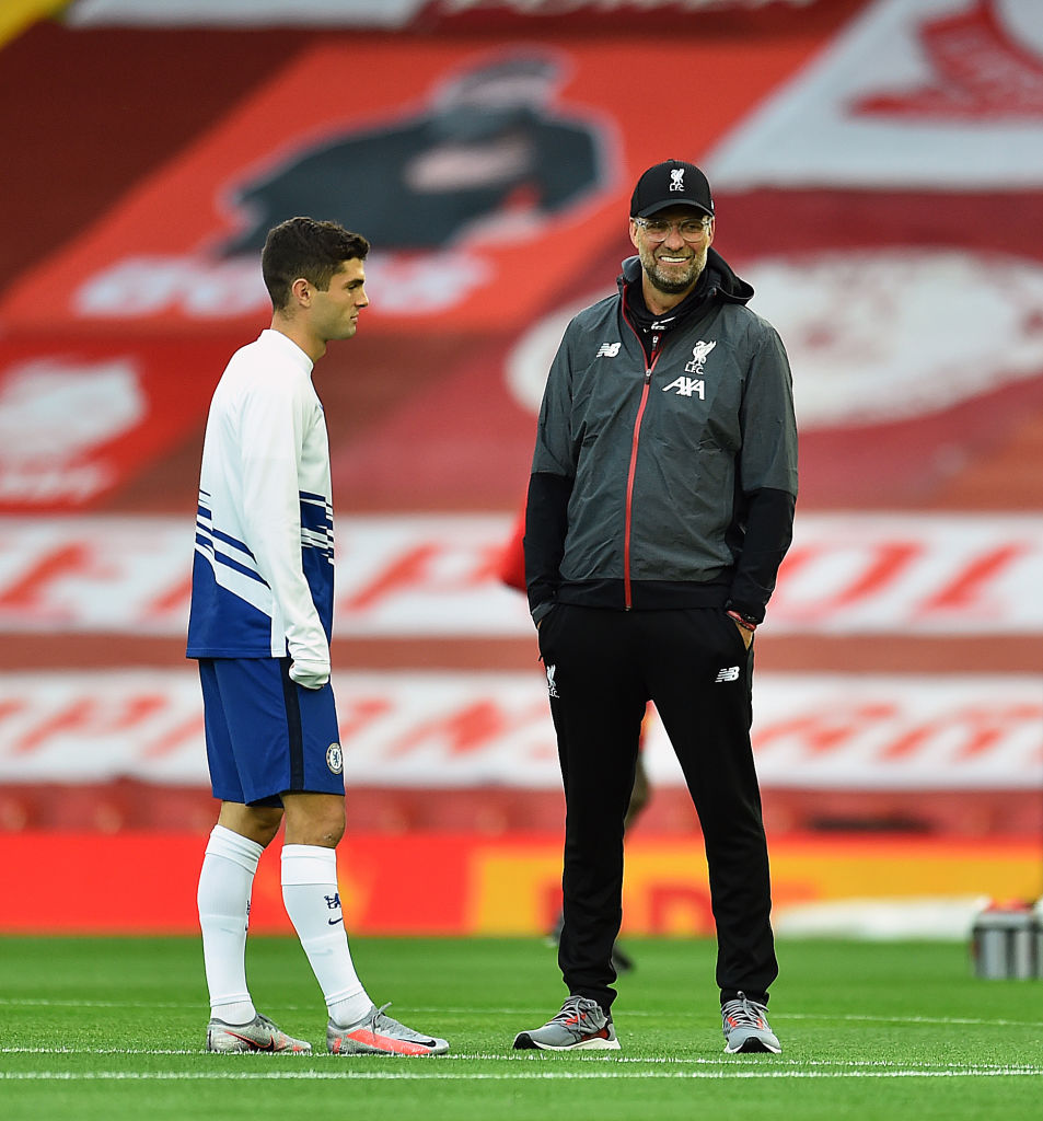 Liverpool have been linked with a move for Christian Pulisic and the player has a history with Jürgen Klopp