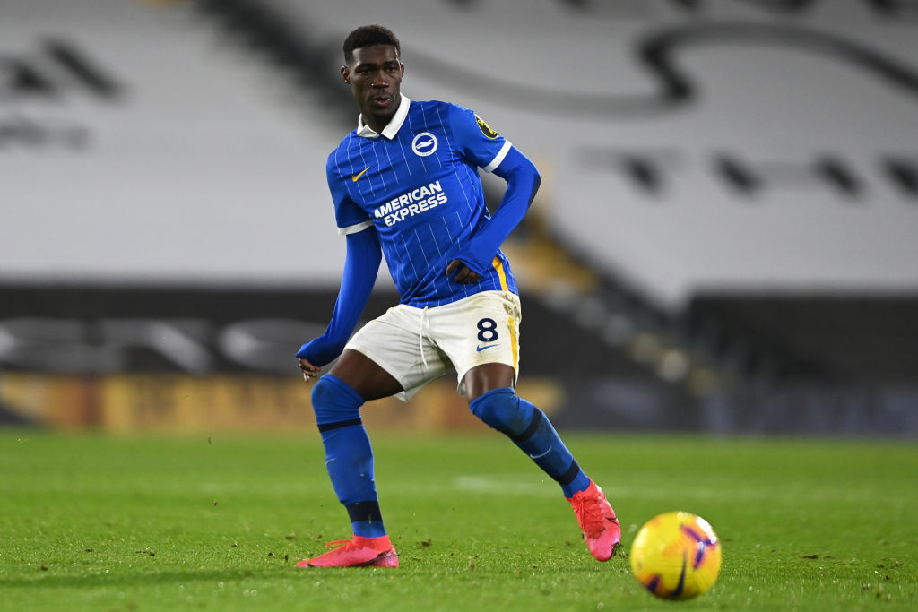 Liverpool target Yves Bissouma has asked to leave Brighton.