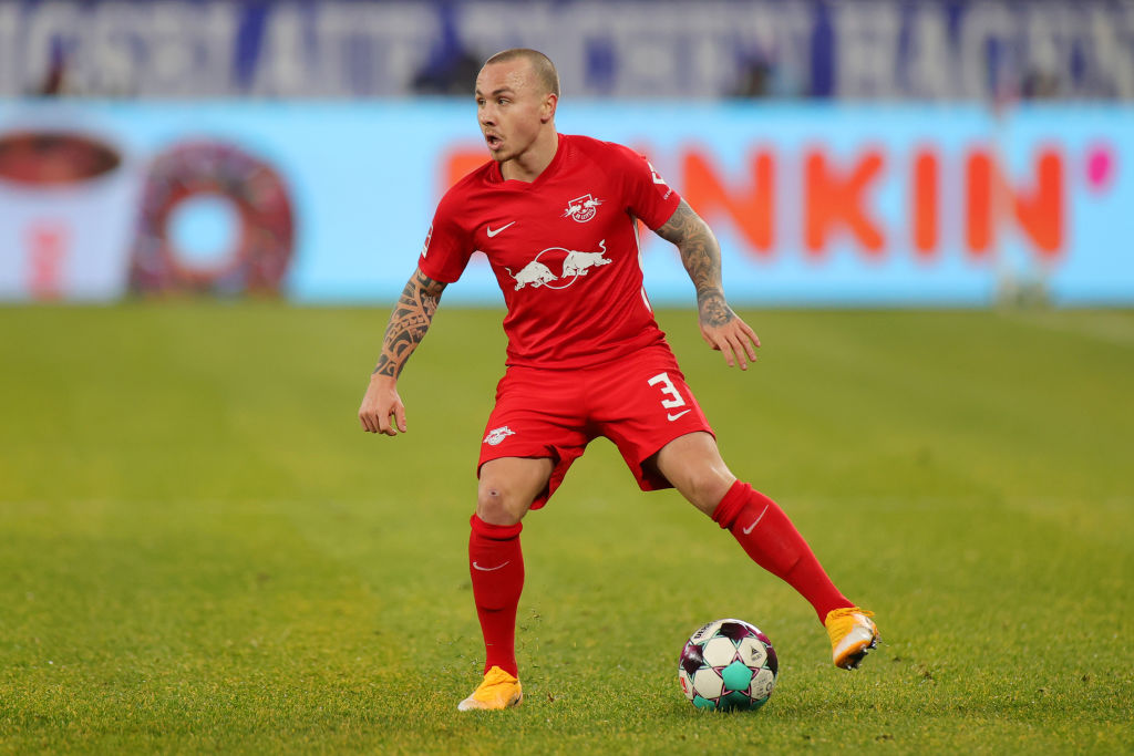 RB Leipzig could be without Angelino for the Liverpool clash on Wednesday.