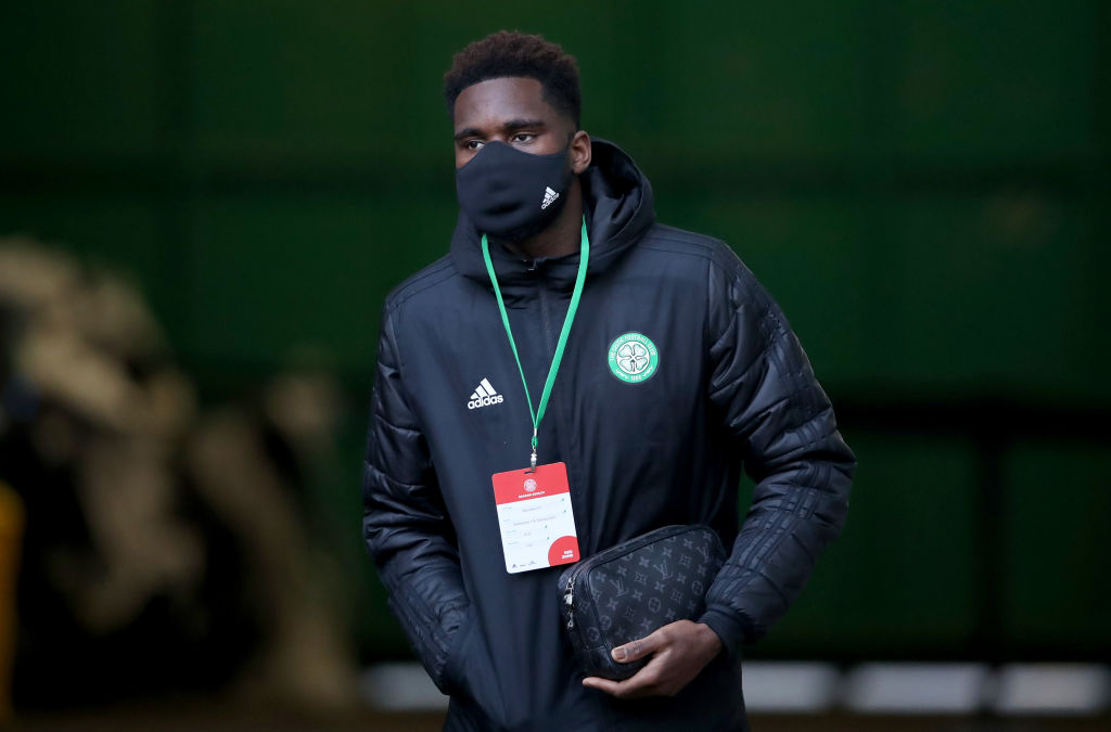 Reported Liverpool target Odsonne Edouard had an impressive game as Celtic drew with Rangers.
