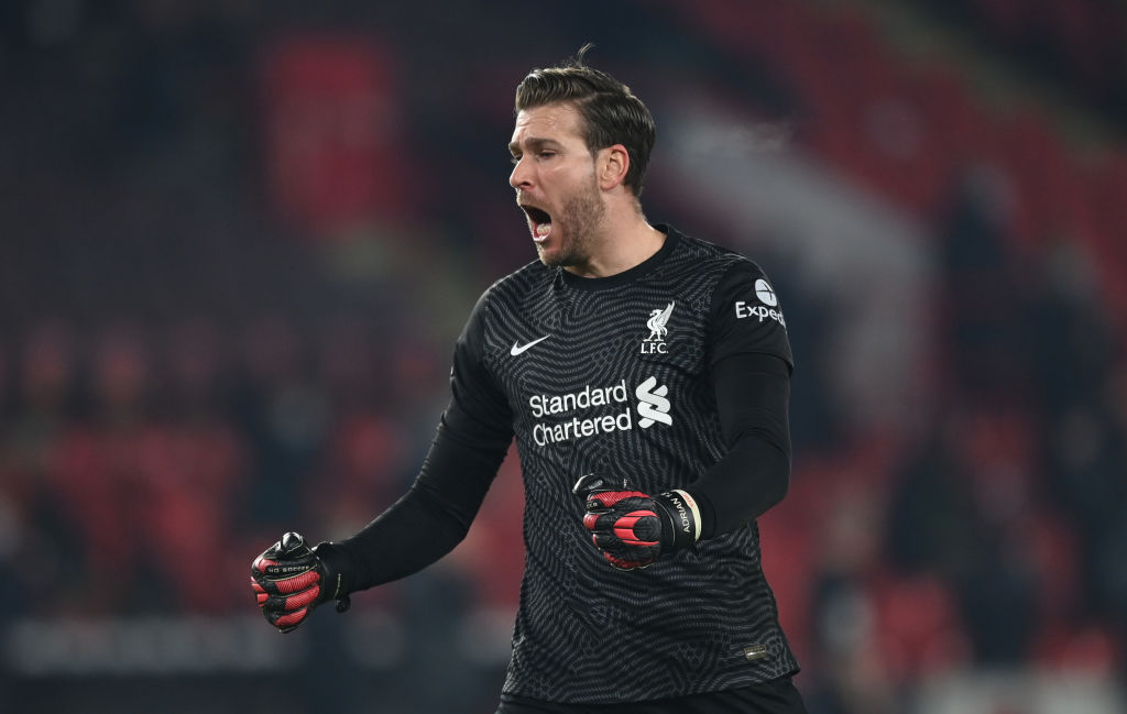 Jürgen Klopp has since confirmed that Adrian is third choice at the moment.