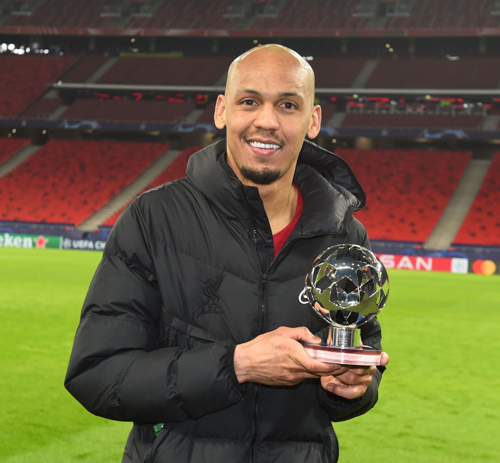 Peter Crouch has been raving about Fabinho.