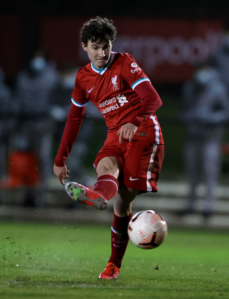 Mateusz Musialowski almost signed for Arsenal before joining Liverpool
