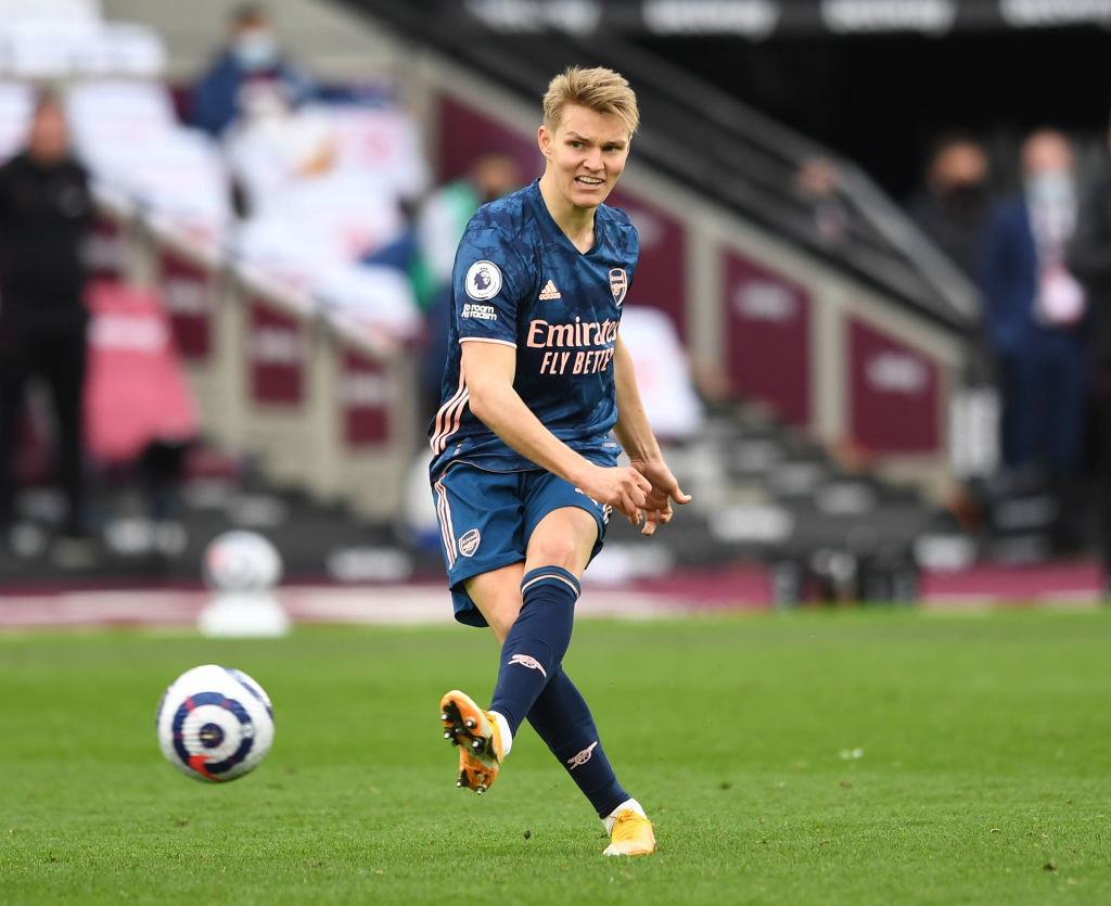 Some Liverpool fans want Martin Odegaard signed over the summer.