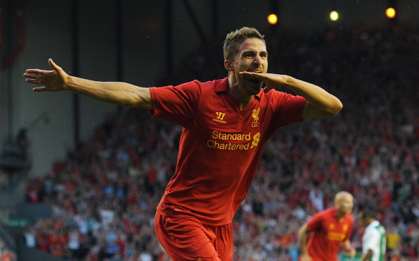 Fabio Borini has said he couldn't turn down Liverpool.