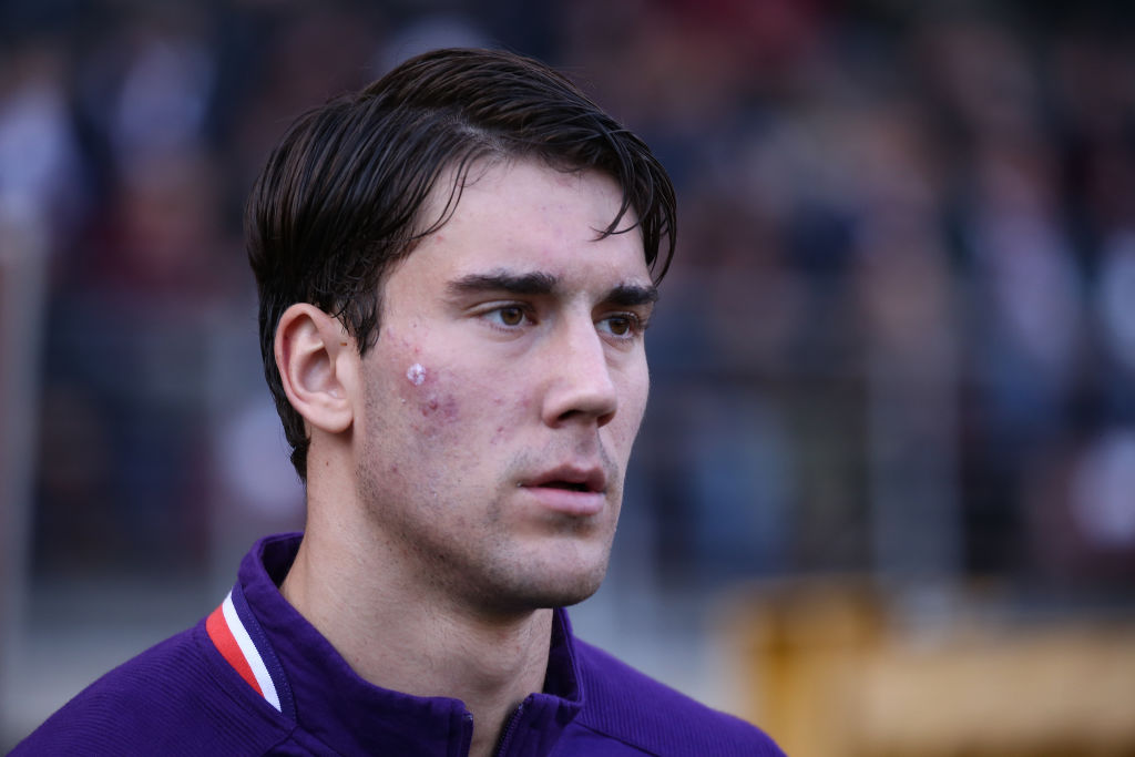 Liverpool are considering a move for Dusan Vlahovic