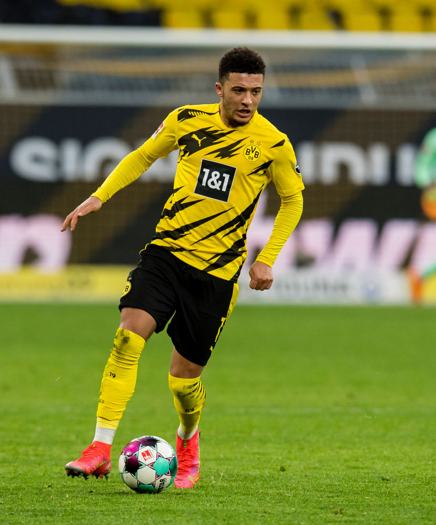 According to Fichajes in Spain, Liverpool want to sign Jadon Sancho.