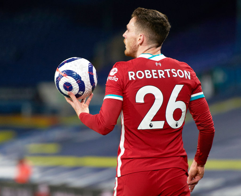 Sir Alex Ferguson has labeled Andy Robertson as an 'unbelievable' player.
