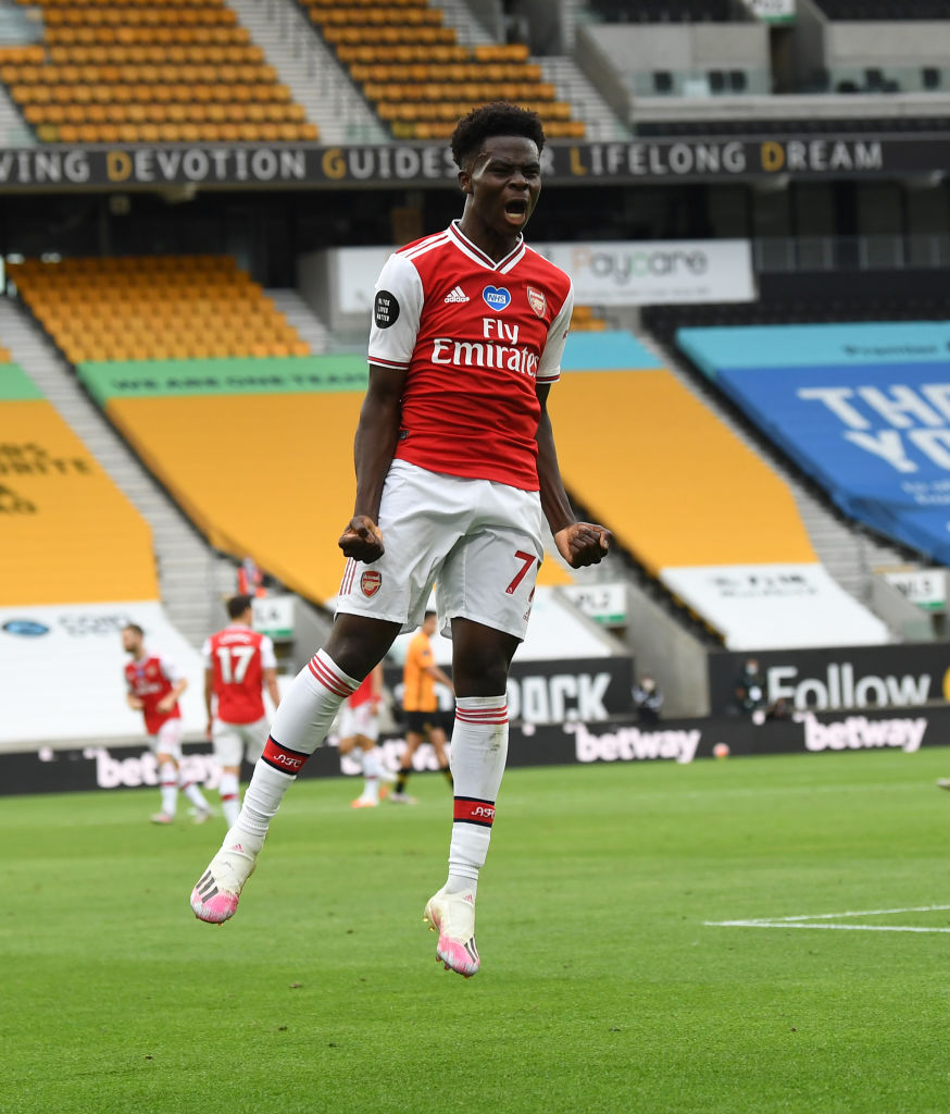 Liverpool signing Bukayo Saka if he's available is a no brainer.