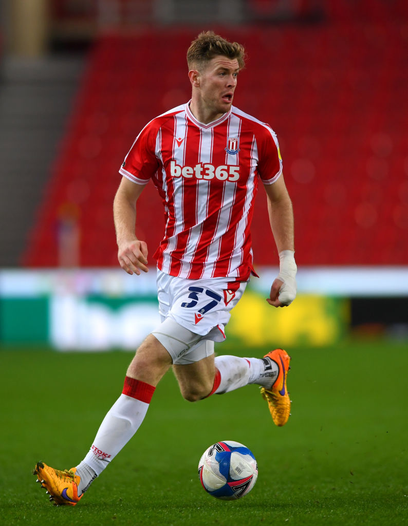 A report has suggested that Liverpool could move Nathan Collins from Stoke City