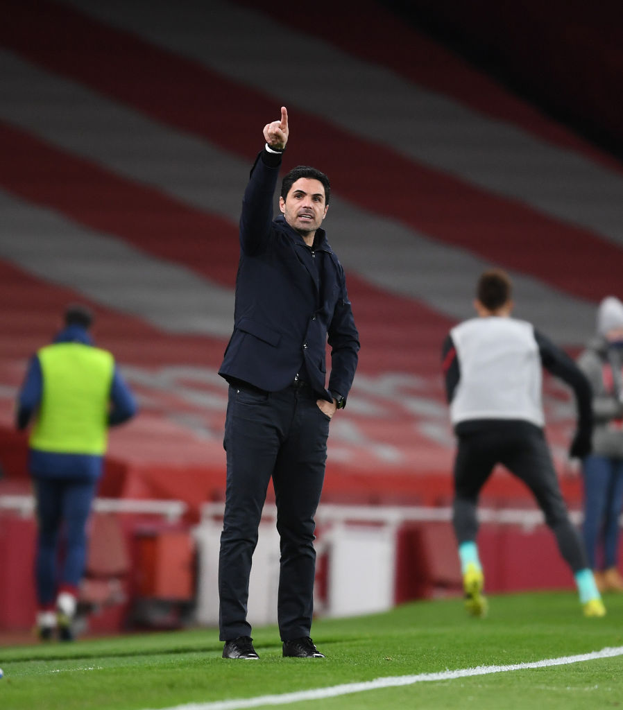 Mikel Arteta has explained why Arsenal didn't stand a chance against Liverpool