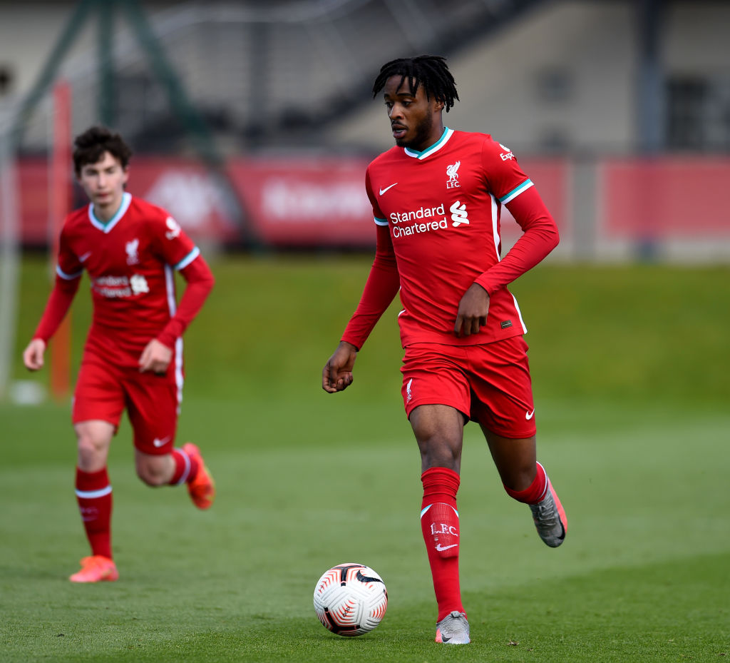 James Balagizi is being wasted in the Liverpool U18s