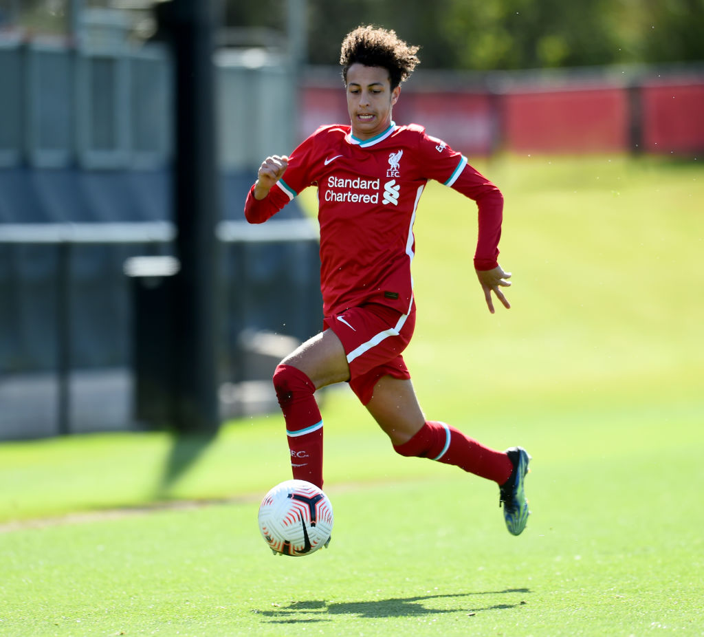 Liverpool U18s battered Middlesbrough  this weekend, putting six past the visitors