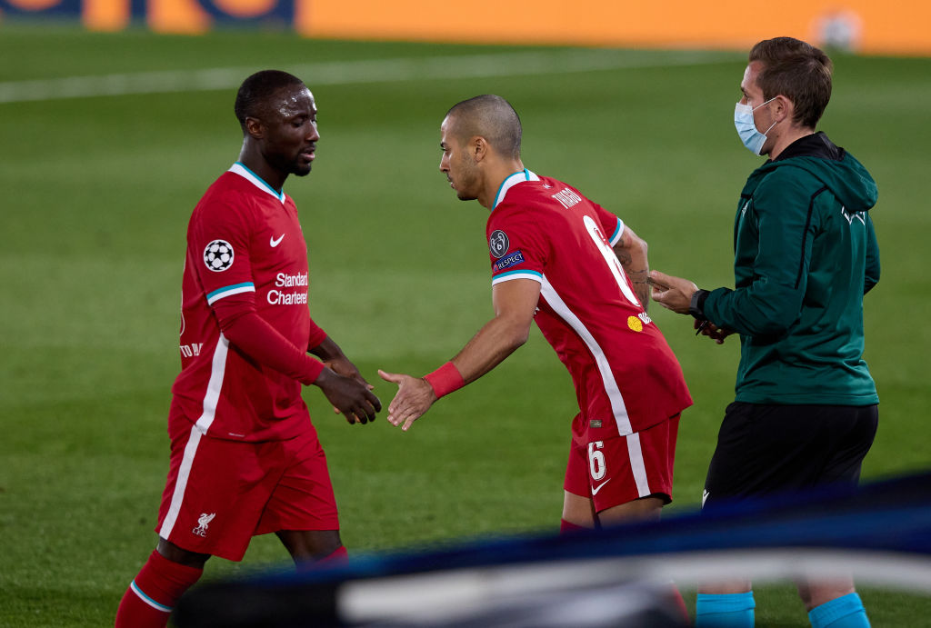 Naby Keita blow his big chance against Real Madrid