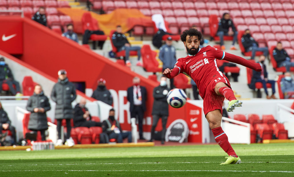 PSG are considering a move for Mohamed Salah.