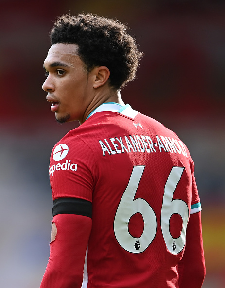 Some Twitter users think it's time for Trent Alexander-Arnold to move into midfield