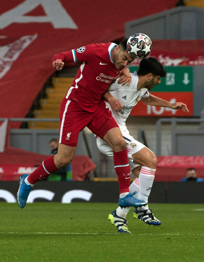 Liverpool fans have praised Ozan Kabak for his performance against Real Madrid