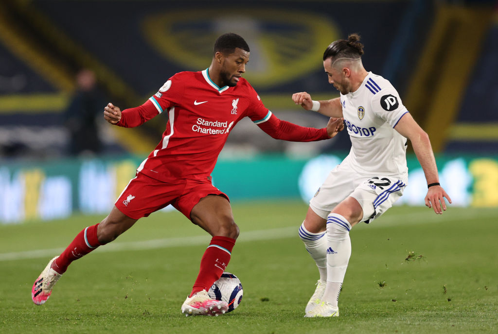 Leeds United v Liverpool - Premier League - Gini Wijnaldum.