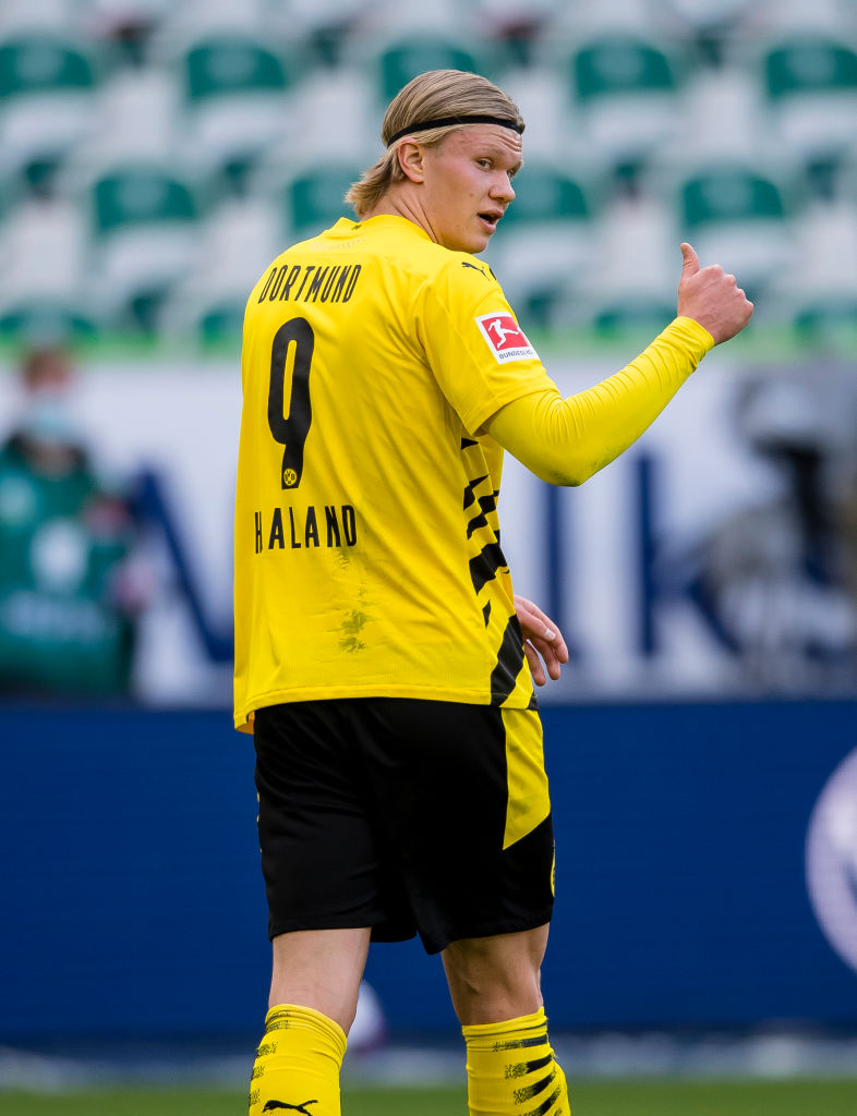 Reported Liverpool target Erling Haaland is allegedly available for £156m this summer