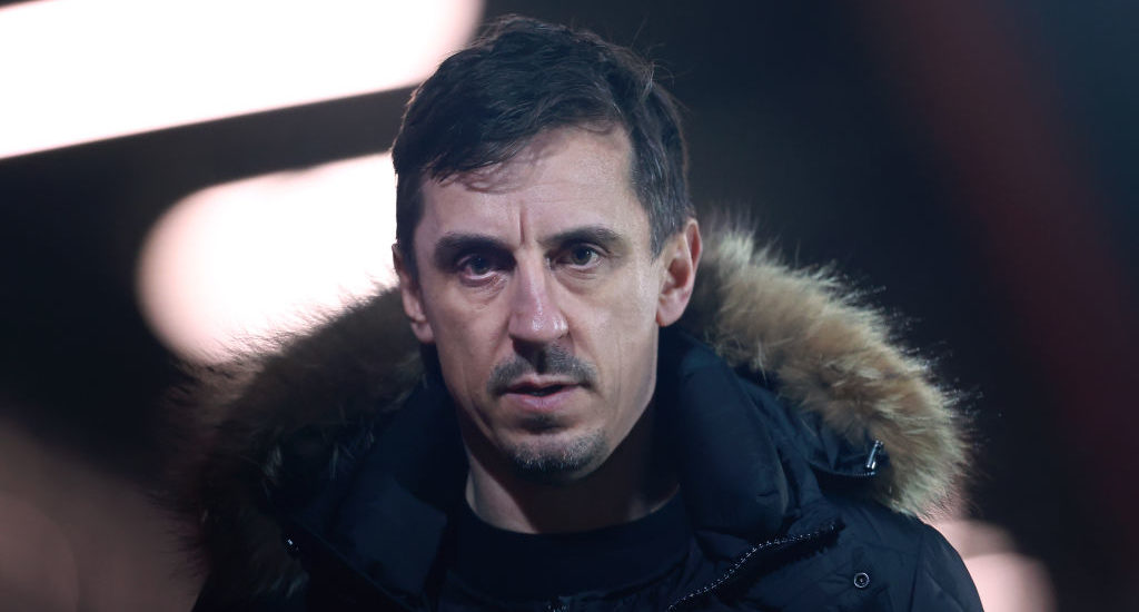 'Aren't the team': Gary Neville unconvinced by Liverpool title challenge - Rousing The Kop - Liverpool FC News