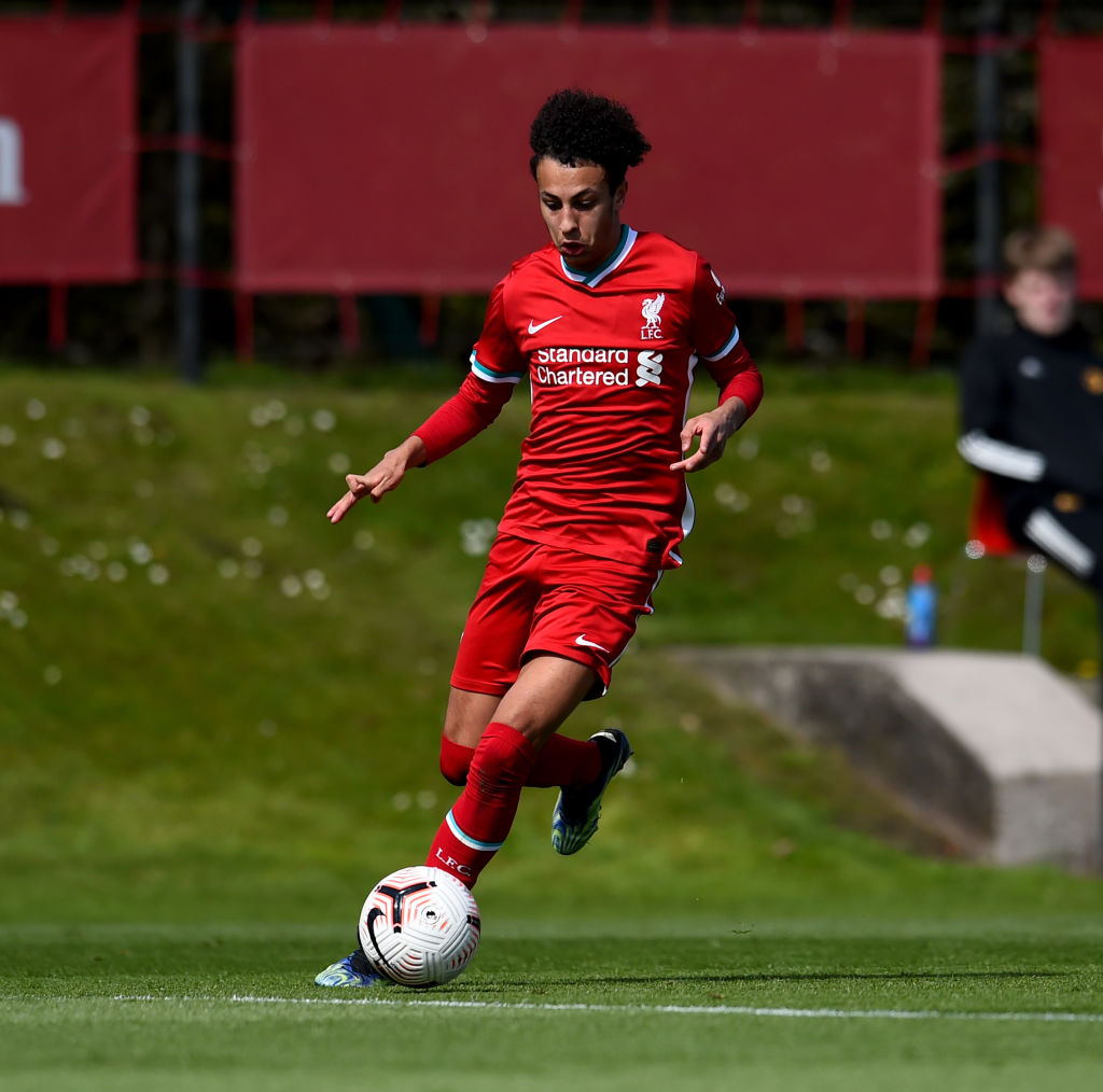 Liverpool fans have been raving about Kaide Gordon