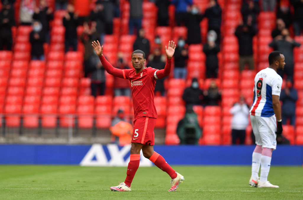 Here are our Liverpool player ratings v Crystal Palace: