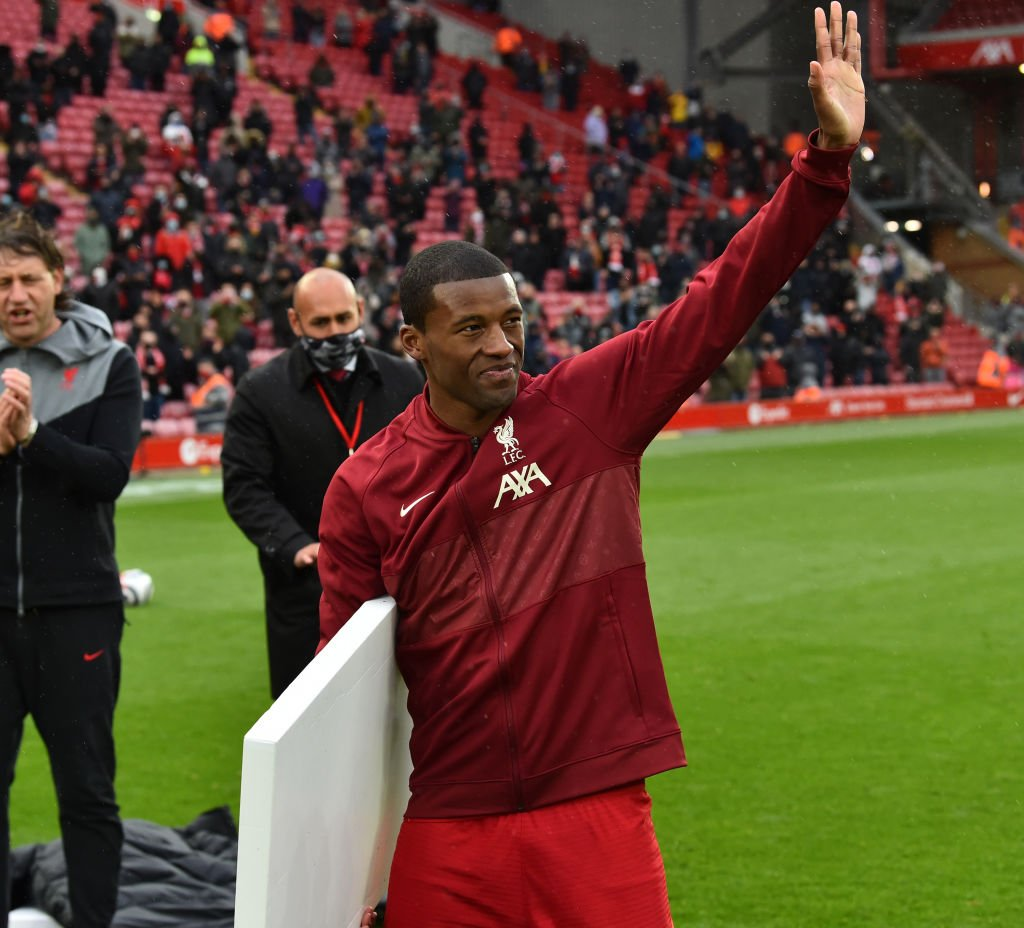 Gini Wijnaldum has said he will be a Liverpool supporter for life.