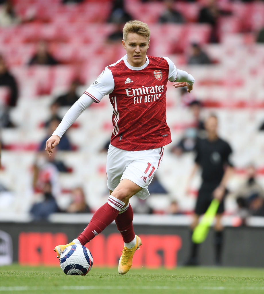 Liverpool linked Martin Odegaard is available for around £51m.